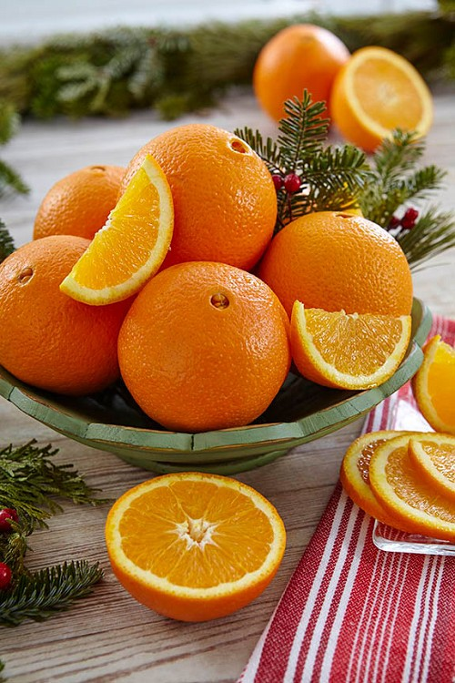 November & December: Navel Oranges